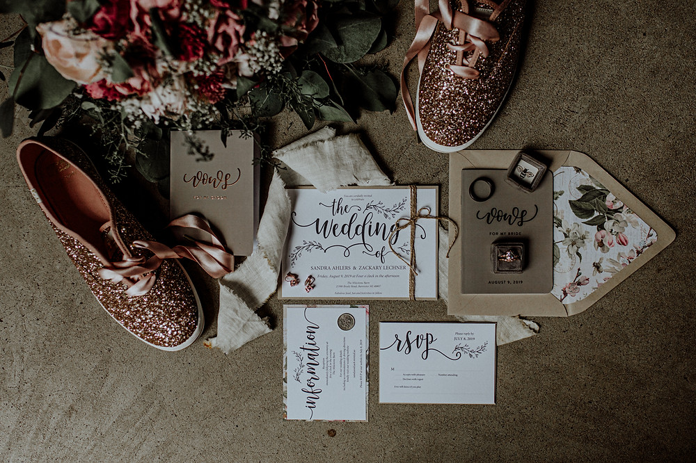 wedding stationary by TeeshaDerrick on etsy. photos by little blue bird photography