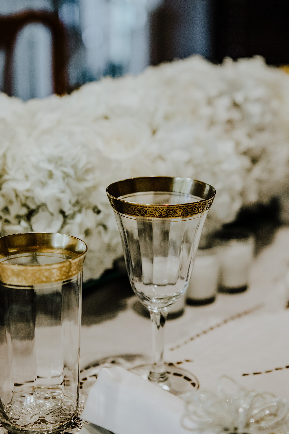 home elopement photo by Little Blue Bird Photography | wedding photographer in West Bloomfield, Michigan