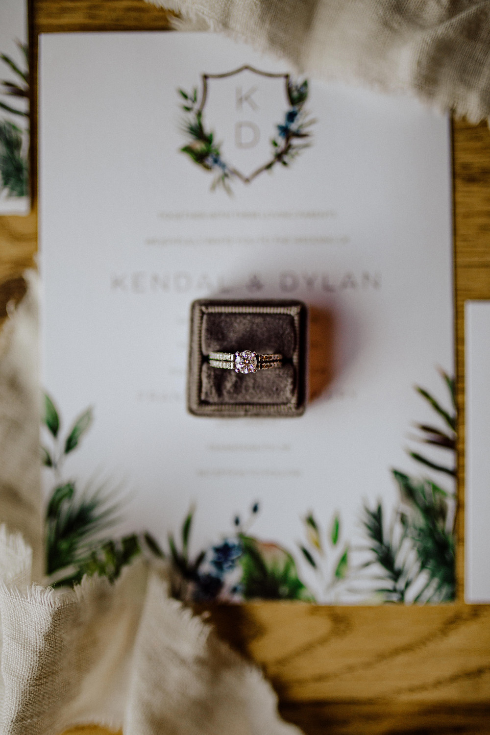 shutterfly wedding stationary photo by little blue bird photography from frankenmuth, Michigan