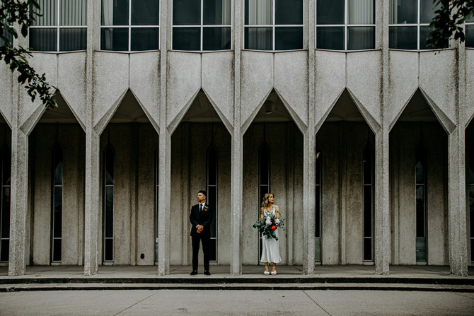 Erin + Kevin | Modern Detroit Wedding
