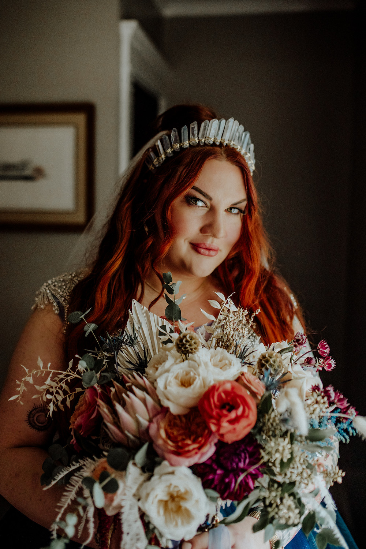 eclectic bride ideas