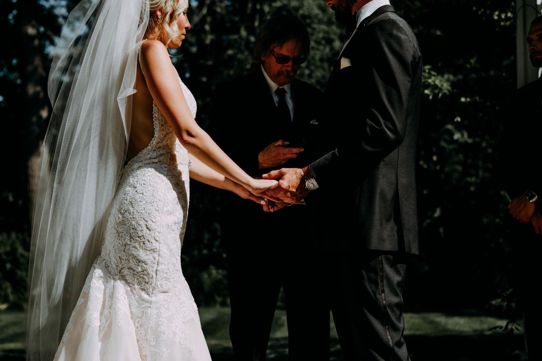 wellers in weddings in saline