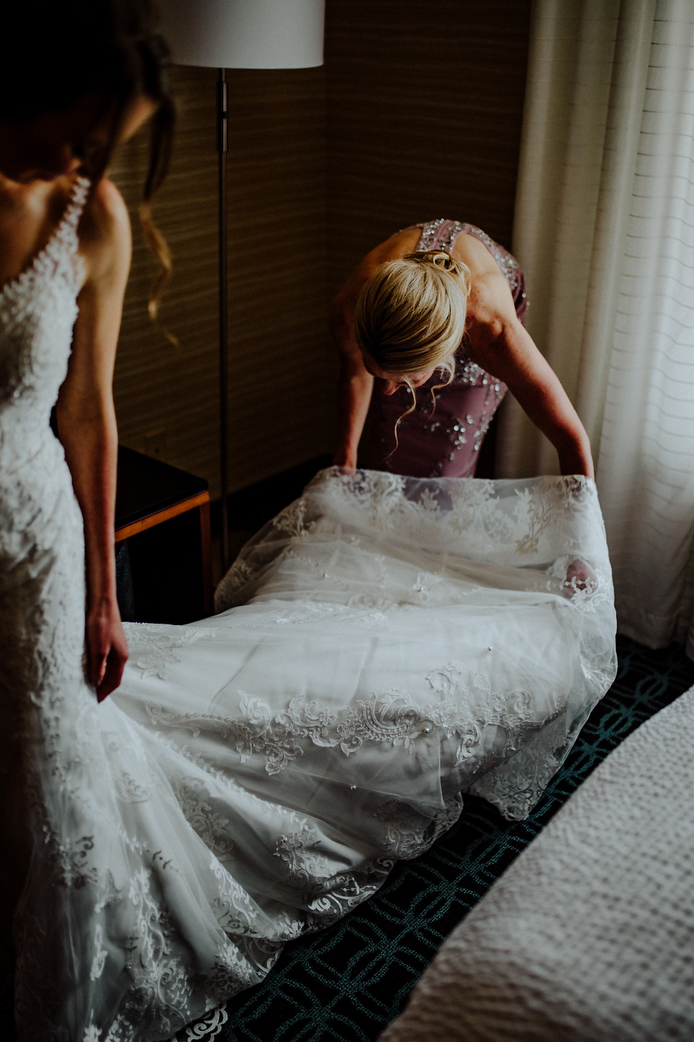 wedding photo by little blue bird photography in frankenmuth, michigan