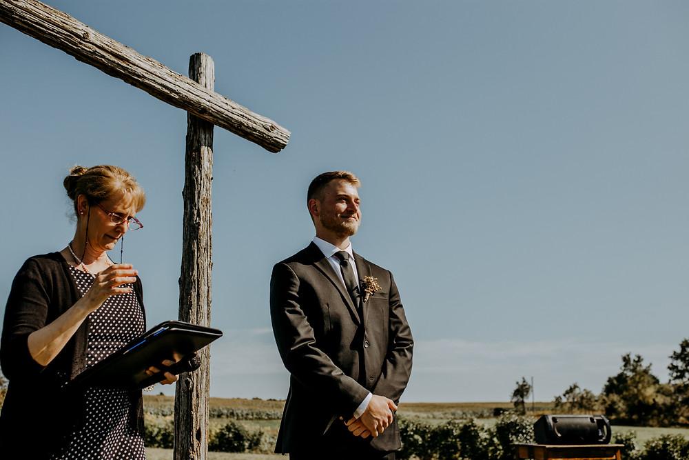 rustic wedding groom attire