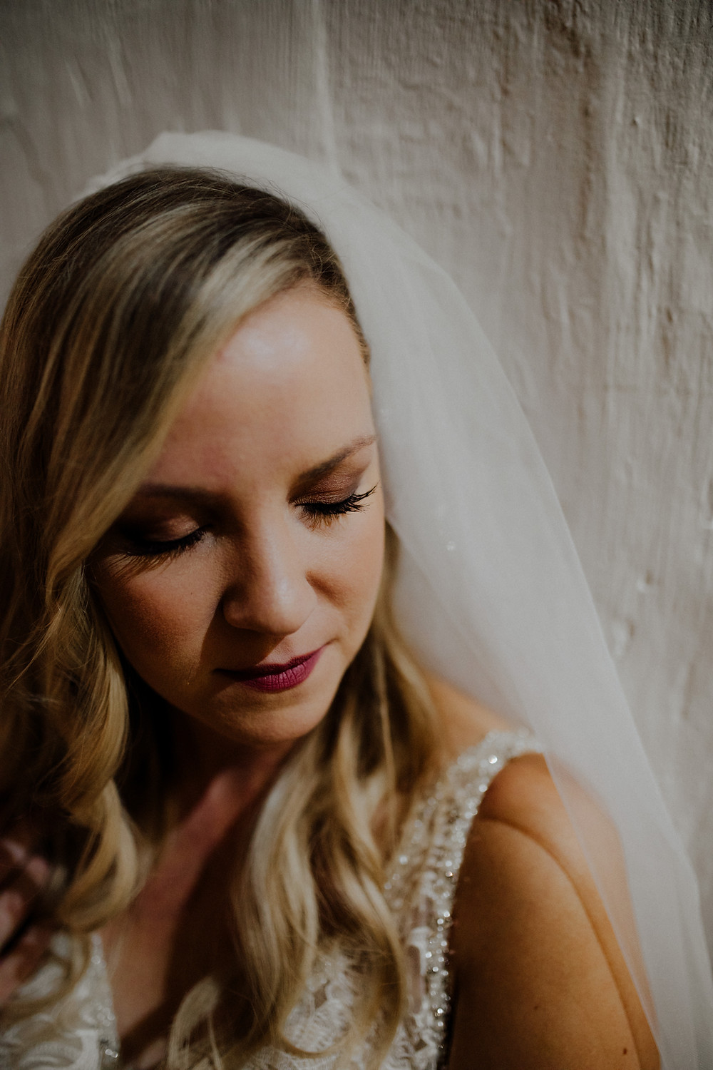 moody wedding photo taken by little blue bird photography in detroit, michigan