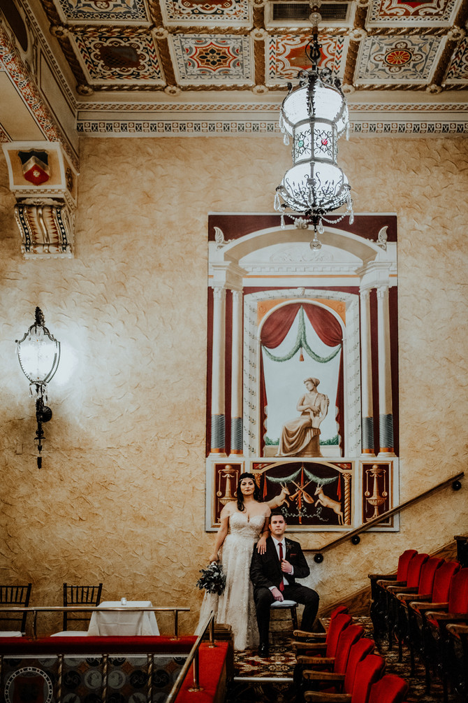 Nicolette + Adam | Wedding at the Gem Theater in Detroit, Michigan