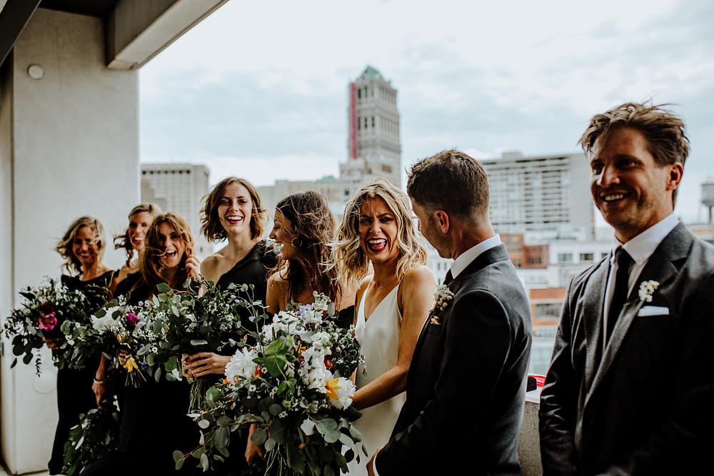 wedding photo by Little Blue Bird Photography in Detroit Michigan