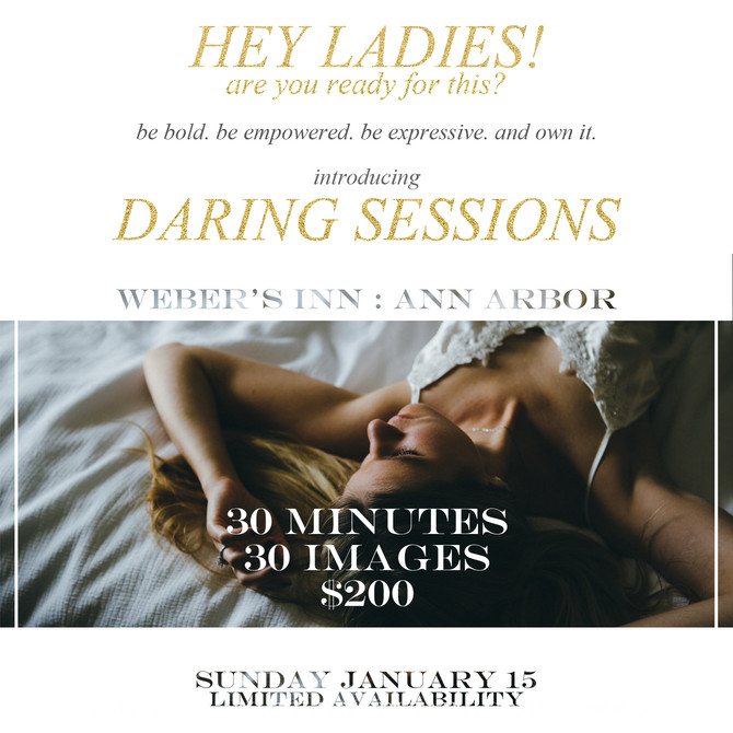Introducing Daring Sessions!