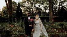 Ashlea + Dan | Rose Garden Wedding | Lansing, michigan