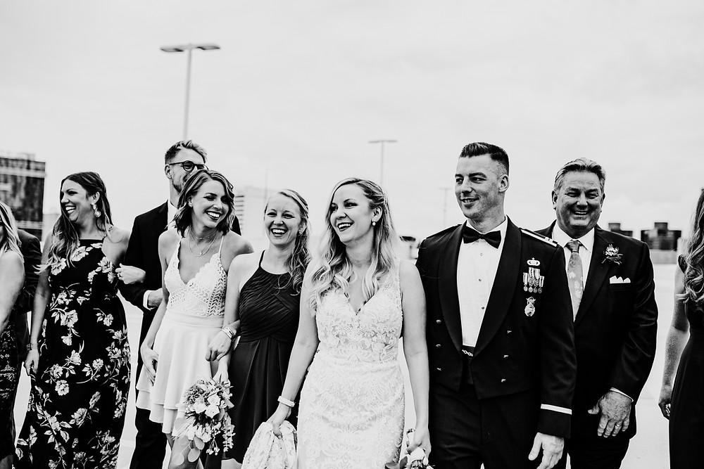 candid wedding photography - little blue bird photography - detroit, michigan