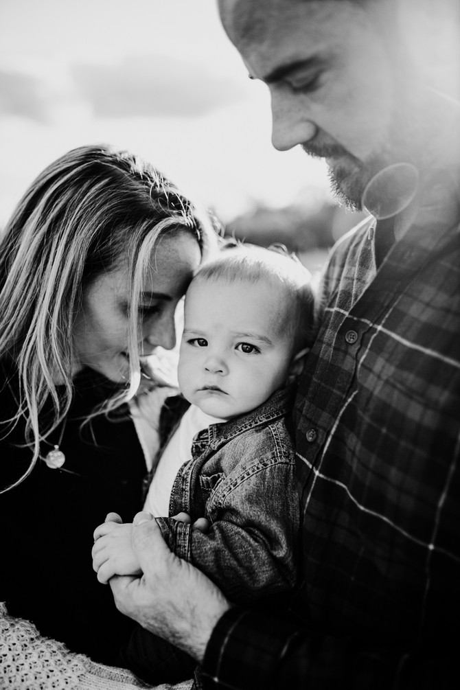 Katie + Matt   Fall Family Photos