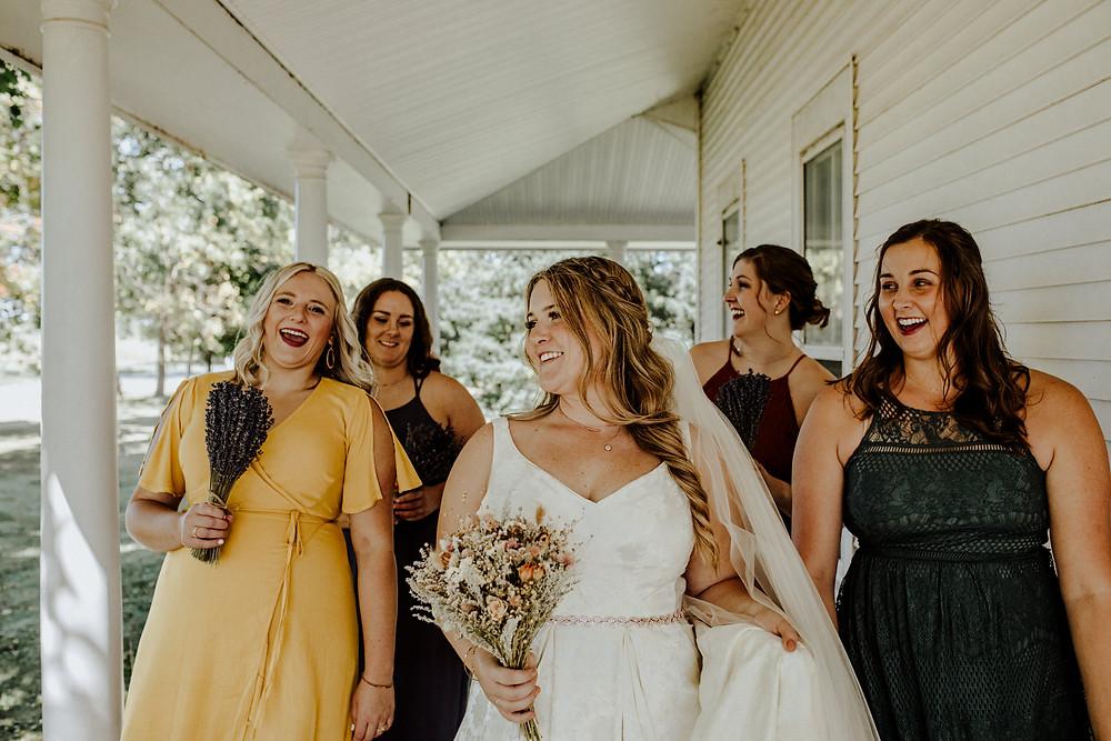 rustic wedding attire in michigan