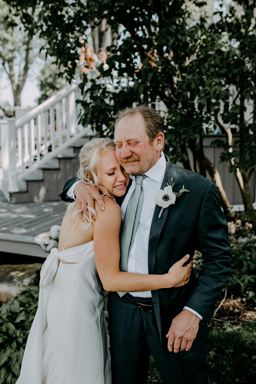 wedding photo by Little Blue Bird Photography at Highpoint Farms in Addison Michigan