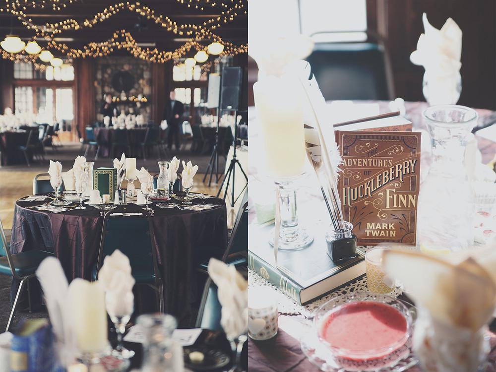 Vintage Wedding, Vintage wedding photography, book themed wedding, book wedding, literary wedding, alternative wedding, indie wedding, photographer, photography, michigan wedding, michigan photography, michigan photographer, waldenwoods wedding, waldenwoods