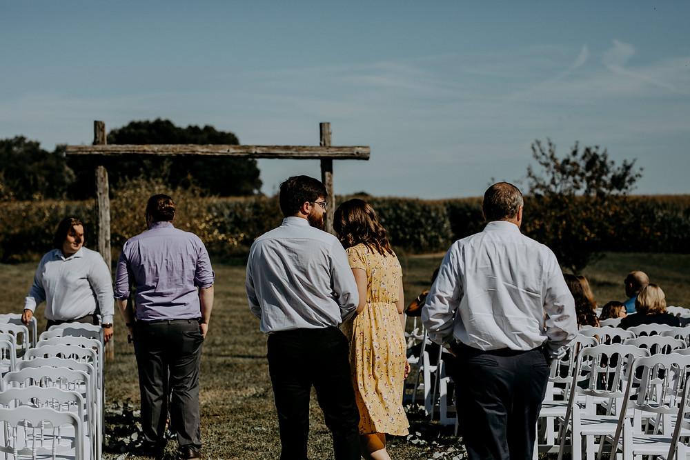 wedding guest attire rustic wedding