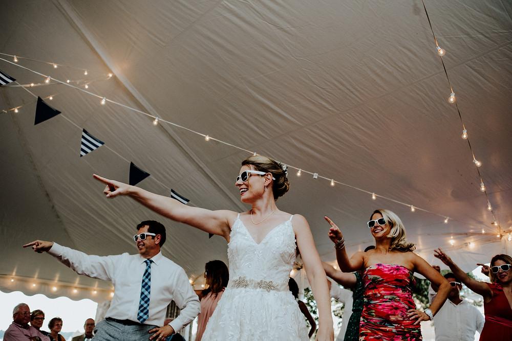 elopement photo by Little Blue Bird Photography | wedding photographer in Manitou Beach, Michigan
