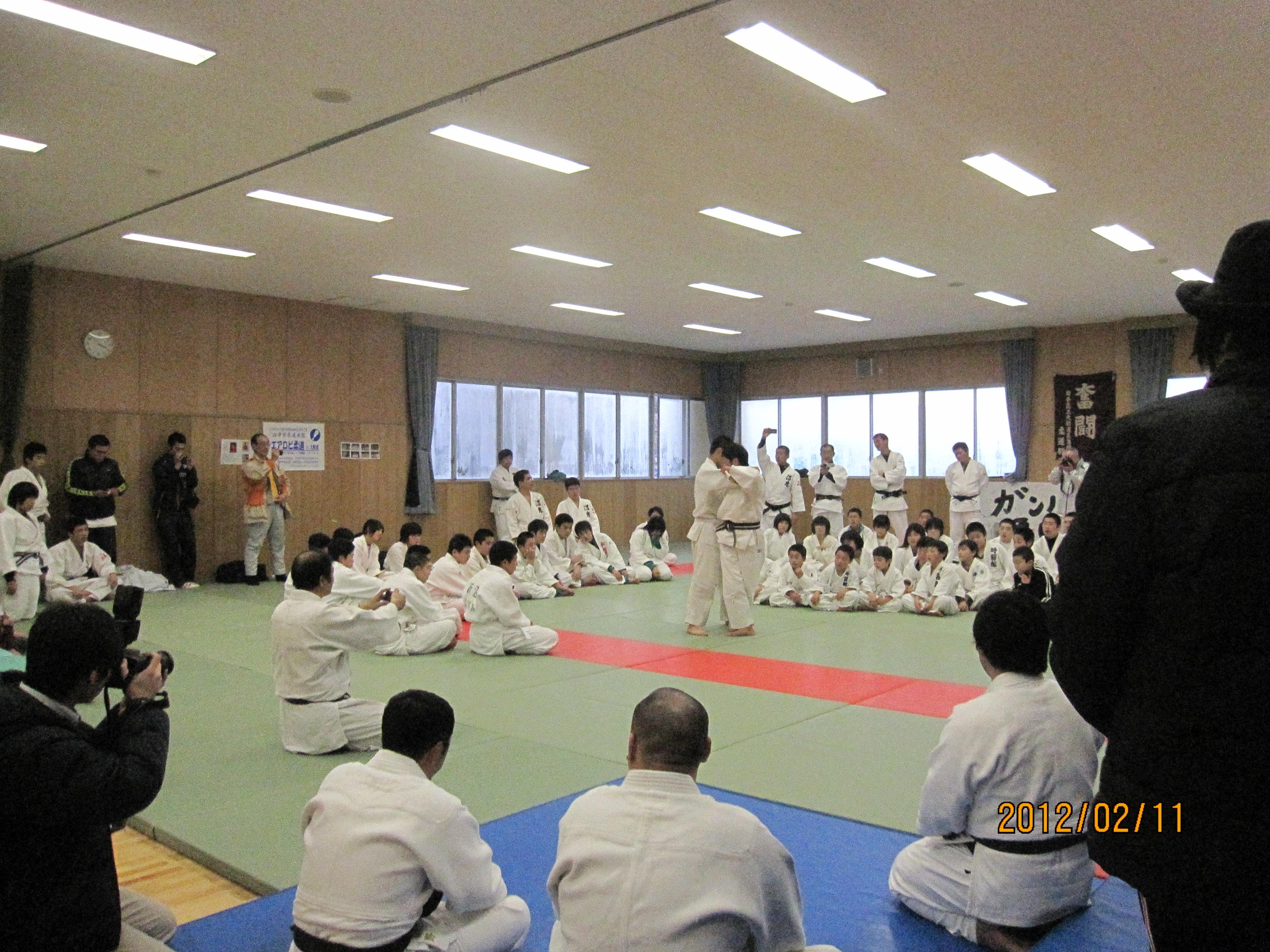 柔道の講習会