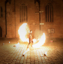 Hochzeitsfeuershow Solo Schwabach