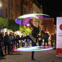 LED Straßenshows für das Citymanagement Rosenheim