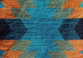 Gestrickter Teppich