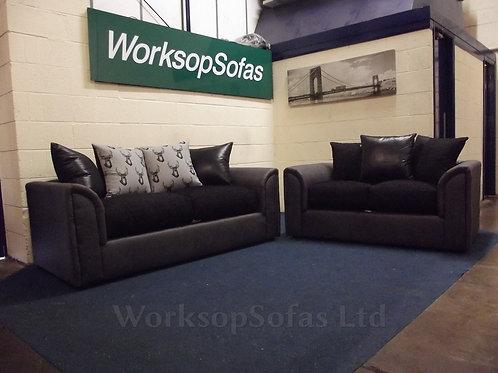 'Madison' 3 & 2 Seater Sofa Suite