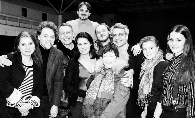 Anna Netrebko - L'Ellisir d'amore Production - Mariinsky Theatre