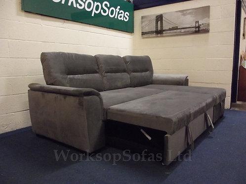 'Nebraska' Chaise Corner Sofa Bed