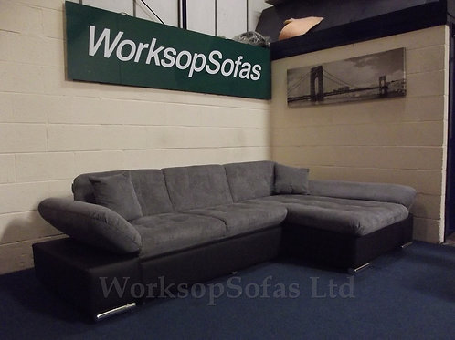 'Malvi' Corner Sofa Bed With Storage
