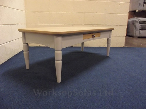 'Castleton' Grey Coffee Table