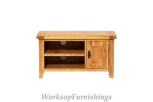 Portland Oak TV Unit