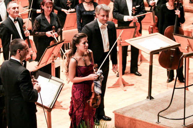 Leticia Moreno - Sofia Festival Orchestra