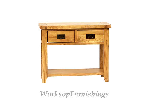 Portland Oak Console Table