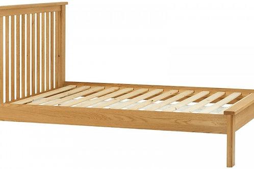 Portland Oak King Bed Frame