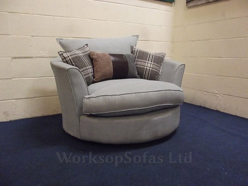 Light Grey Snug Chair