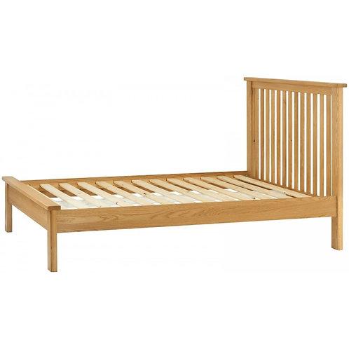 Portland Oak Double Bed Frame