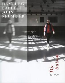 Hamburg Ballet Yearbook Cover Design
