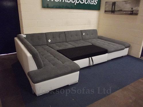 'Bergen' Corner Sofa Bed With Storage