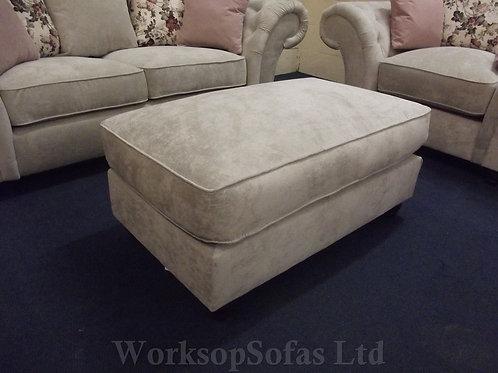 'Roma' Large Footstool