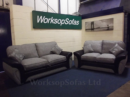 'Lucy' 3 & 2 Seater Sofa Suite