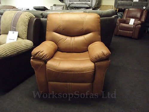Arizona Tan Reclining Armchair
