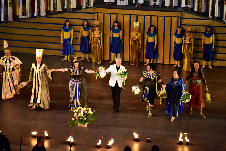 AIDA - Nadia Krasteva - Kamen Tchanev - Plovdiv Opera Open Festival