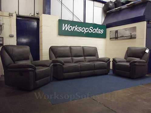 Boston 3 Seater And 2 x Armchairs Suite