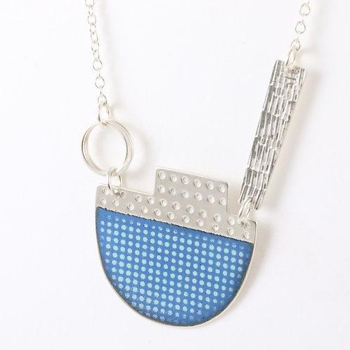 Island Tidal Necklace - Marine Blue
