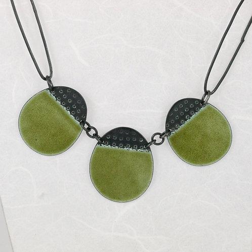 Neckpiece Buoy - Olive Green