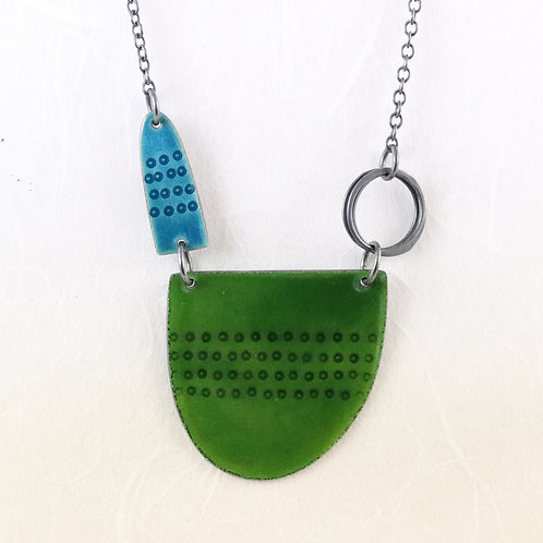 Tidal Necklace -Green