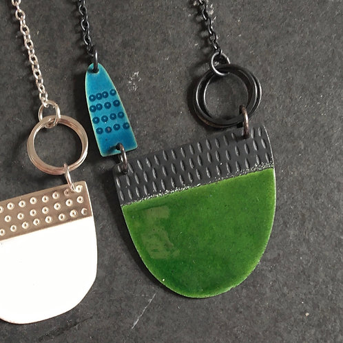 Tidal Necklace - Green
