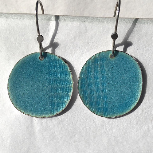 Tidal Earring Light Blue