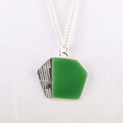 Basalt Pendant - Spring Green