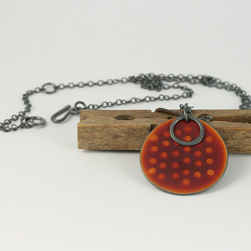 New Sealife Pendant Burnt Orange