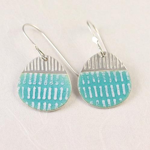 Island Drop Earrings - turquoise